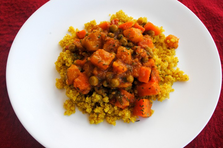 Quinoa With Moroccan Winter Squash And Carrot Stew Recipe ...