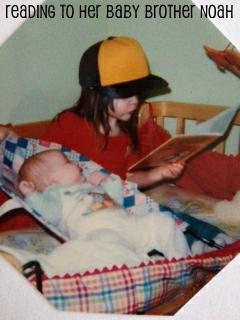 melissa reads to noah