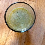 Minty Grapefruit, Celery and Apple Juice